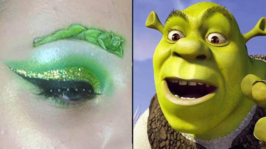 Everyone Screams Over Sexy Shrek Eyebrows